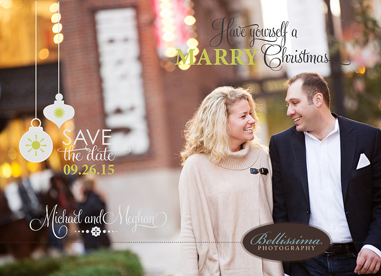 Chicago engagement save the date